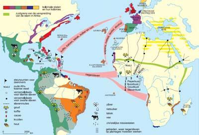 Afrika en de slavenhandel